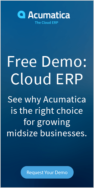 cloud erp software